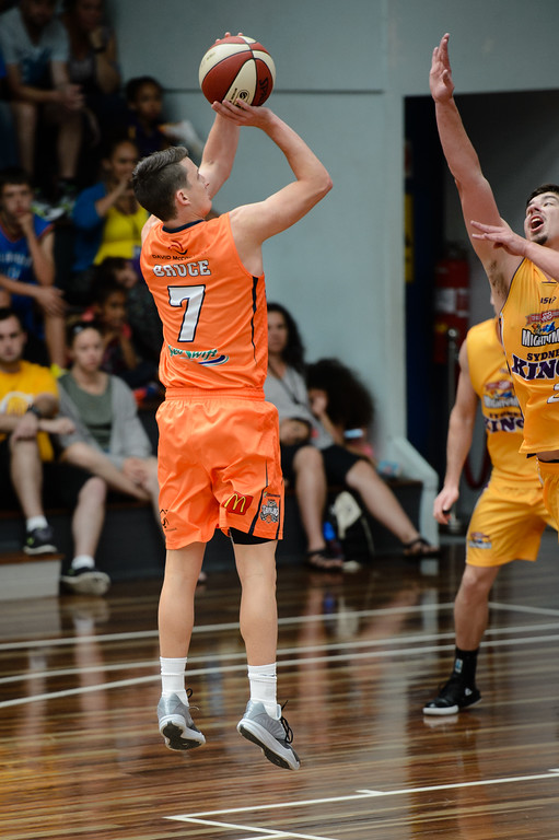 "Shaun Bruce - Cairns Taipans v Sydney Kings - 2014 NBL Blitz Basketball, NAB Stadium, Auchenflower, Brisbane, Qld, AUS. Day 3, Camera 1. Photos by Des Thureson - <a href=""http://disci.smugmug.com"">http://disci.smugmug.com</a>."