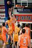 "Cody Ellis, Alex Loughton - Cairns Taipans v Sydney Kings - 2014 NBL Blitz Basketball, NAB Stadium, Auchenflower, Brisbane, Qld, AUS. Day 3, Camera 1. Photos by Des Thureson - <a href=""http://disci.smugmug.com"">http://disci.smugmug.com</a>."