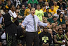 March 10, 2012: Baylor Bears head coach Scott Drew expresses disbelief after a questionable call during the finals of the Phillips 66 Big 12 Men's Basketball Championship.  The Missouri Tigers defeated the Baylor Bears 90-75 at Sprint Center in Kansas City, Missouri.