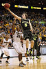 March 10, 2012: Baylor Bears guard Brady Heslip (5) lays one in while Missouri Tigers guard Kim English (24) defends during the finals of the Phillips 66 Big 12 Men's Basketball Championship.  The Missouri Tigers defeated the Baylor Bears 90-75 at Sprint Center in Kansas City, Missouri.