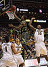 March 10, 2012: Baylor Bears guard Pierre Jackson (55) goes up for a layup during the finals of the Phillips 66 Big 12 Men's Basketball Championship.  The Missouri Tigers defeated the Baylor Bears 90-75 at Sprint Center in Kansas City, Missouri.