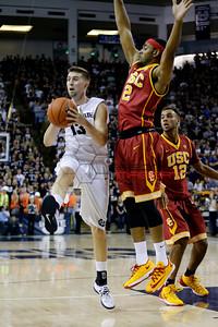 NCAA Basketball: Southern California at Utah State