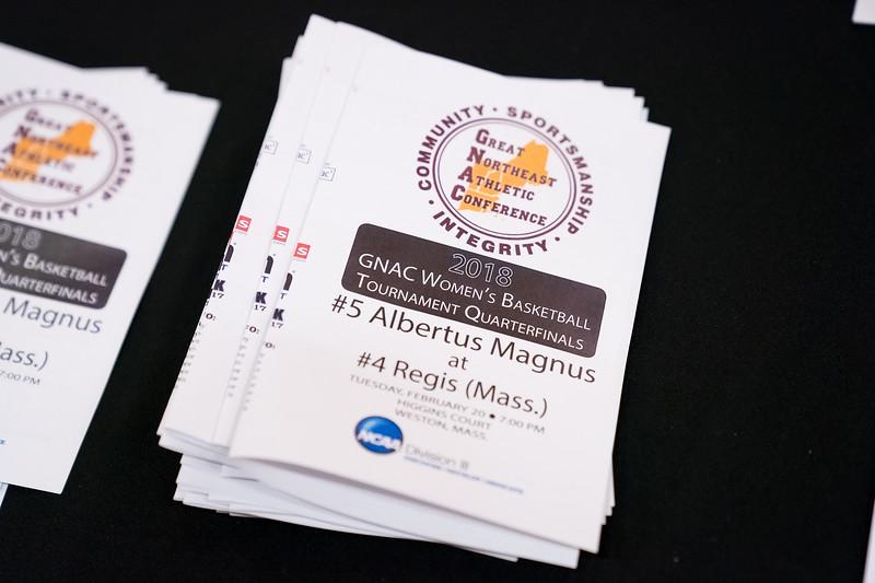 Albertus Magnus Falcons vs Regis Pride February 20, 2018