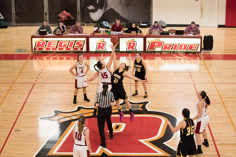 Framingham State Rams vs Regis Pride December 14, 2017