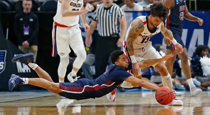 NCAA Fairleigh Dickinson Gonzaga Basketball
