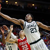 APTOPIX NCAA Bradley Michigan St Basketball