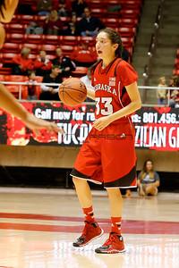 NCAA Womens Basketball: Nebraska at Utah