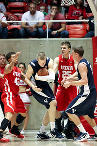 NCAA BASKETBALL: DEC 10 BYU at Utah