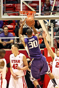 NCAA BASKETBALL: JAN 07 Washington at Utah