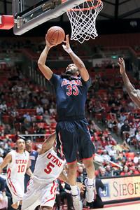 NCAA BASKETBALL: JAN 19 Arizona at Utah