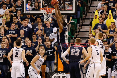 NCAA Basketball: Utah State at Brigham Young