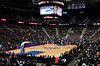 Feb 11, 2013; Auburn Hills, MI, USA; A general view of The Palace during the game between the Detroit Pistons and the New Orleans Hornets. Hornets won 105-86. Mandatory Credit: Tim Fuller-USA TODAY Sports
