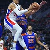 NBA: New York Knicks at Detroit Pistons