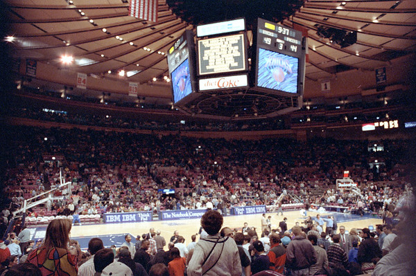 New York Knicks vs Indiana Pacers, December 11, 1993
