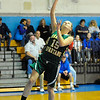 Oakmont's Haley Maciel lays up the ball during Friday's game against Lunenburg.<br /> SENTINEL & ENTERPRISE / BRETT CRAWFORD