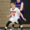 Ogden High School Tigers Play Box Elder in high school hoops action