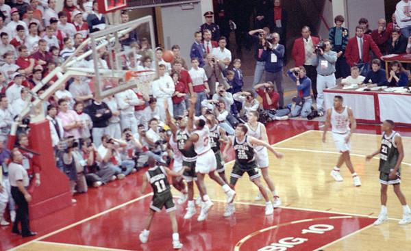 Ohio State vs. Michigan State, March 3, 1991