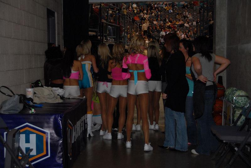 December 22, 2006.  New Orleans/OKC Hornets vs Memphis Grizzlies.