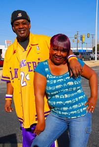 Oklahoma City Thunder vs Los Angeles Lakers Tuesday Feb 24, 2009