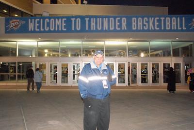 Oklahoma City Thunder vs New York Knicks Tuesday Jan 6, 2009