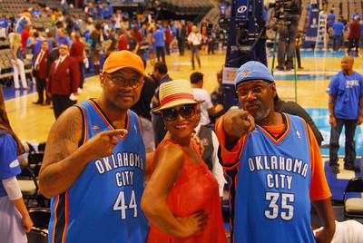 OKC Thunder vs Dallas Mavericks Saturday May 5, 2012