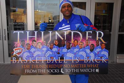 OKC Thunder vs San Antonio Spurs Sunday Jan 8, 2012