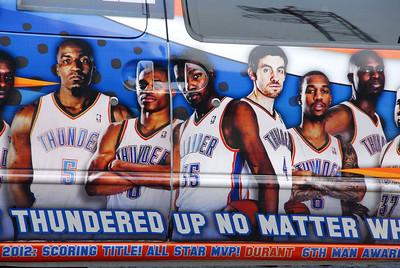 """The new Bling Bling """"Thunder Van"""" June 12, 2012"""