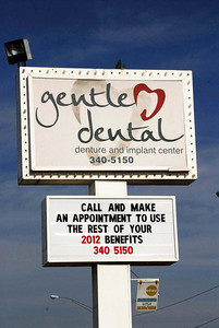 Gentle Dental supports the OKC Thunder Nov 30, 2012
