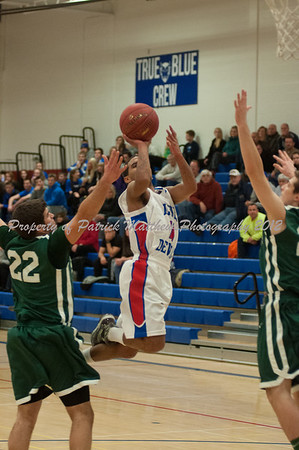 Plainville High School Basketball vs Maloney