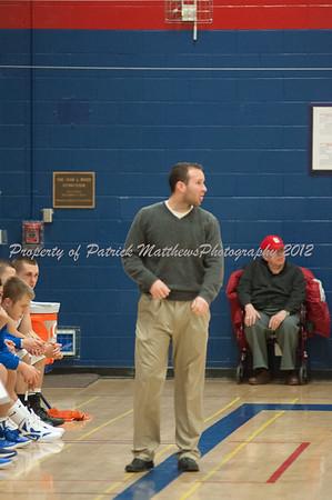 Plainville High School Basketball vs Maloney