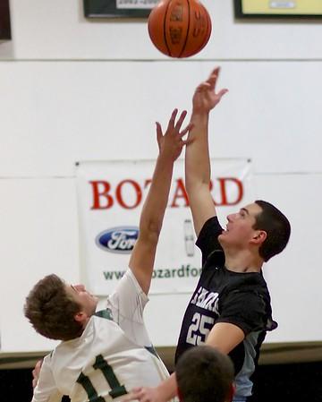 Ponte Vedra Boys' Basketball vs Nease 12/19/14
