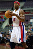 Nov 28, 2012; Auburn Hills, MI, USA; Detroit Pistons small forward Corey Maggette (50) during the fourth quarter against the Phoenix Suns at The Palace. Detroit won 117-77. Mandatory Credit: Tim Fuller-USA TODAY Sports