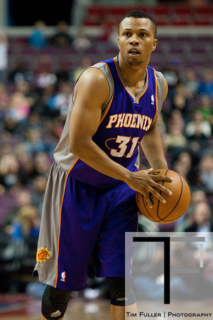 Nov 28, 2012; Auburn Hills, MI, USA; Phoenix Suns point guard Sebastian Telfair (31) during the first quarter against the Detroit Pistons at The Palace. Mandatory Credit: Tim Fuller-USA TODAY Sports