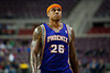 Nov 28, 2012; Auburn Hills, MI, USA; Phoenix Suns point guard Shannon Brown (26) during the first quarter against the Detroit Pistons at The Palace. Mandatory Credit: Tim Fuller-USA TODAY Sports