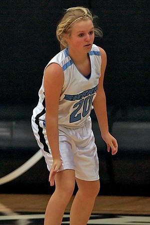 Ponte Vedra Sharks Girls' Basketball vs Fletcher 1-27-09