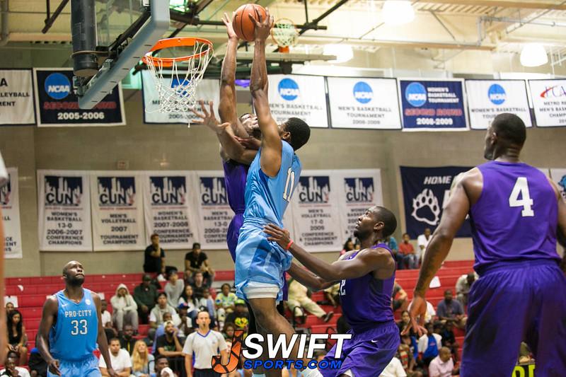 Pro City Basketball-Dyckman/NYAC VS Big Apple Basketball (Playoffs)