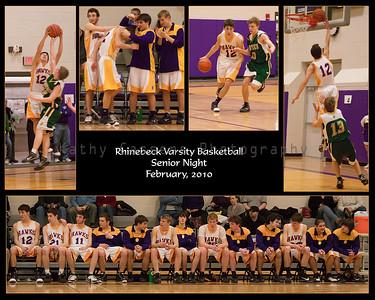Basketball Senior Night Horiz