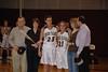 Rhode Island College seniors Kari Geisler and Brittany Rosen, along with their parents