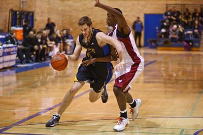 Matthew Lapointe bringing ball up court (4255)