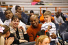SU Athletic Director Darryl Gross enjoying the game.