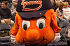 Otto, the Orange, Syracuse University's mascot.