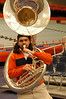 Tuba player for the Sour Sitrus Society.