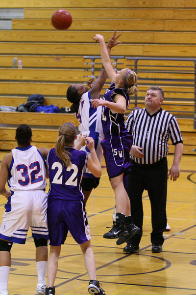 SWHS JV Girls - Jan 18 2008