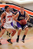 Sequoia Cherokee Varsity Basketball vs.Woodside.  2011-12-23