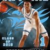 2018 Skyline Basketball Banner DeSean Munson