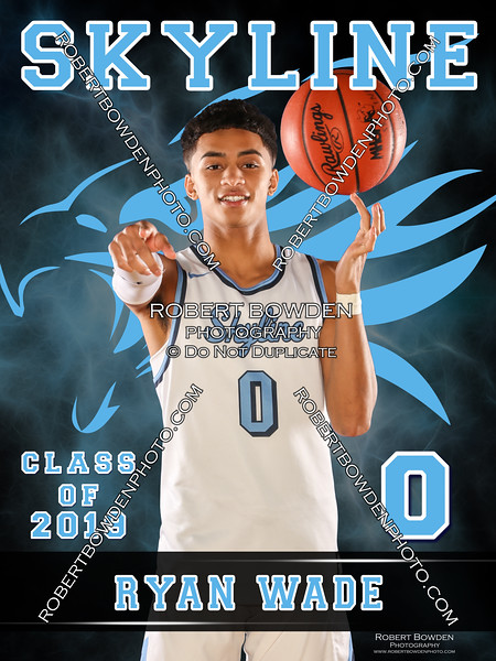 2018 Skyline Basketball Banner Ryan Wade