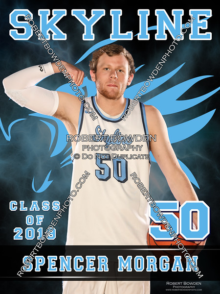 2018 Skyline Basketball Banner Spencer Morgan