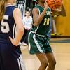 St. Leo's Ivana Akoachere takes a shot during the game against Venerini in the CYO Basketball Tournament on Thursday evening. SENTINEL & ENTERPRISE / Ashley Green
