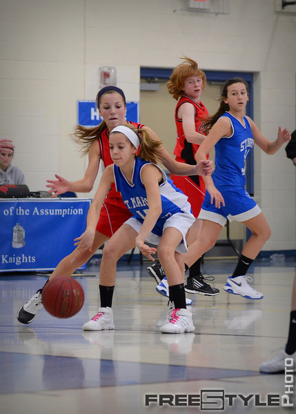 St Mary's Girls 8th Grade Jan 2012