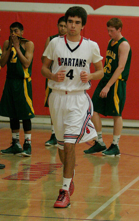 Leonard Massey (4) of Strathmore on January 17, 2013 against Sierra Pacific.